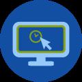 Dispositivos monitor conectado dentro da rede
