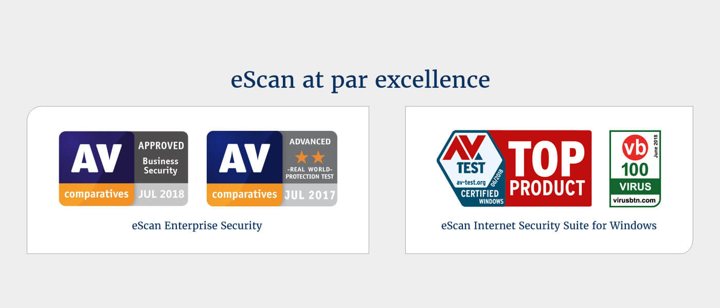 eScan : Secure – Scalable – Reliable : Antivirus, Content Security