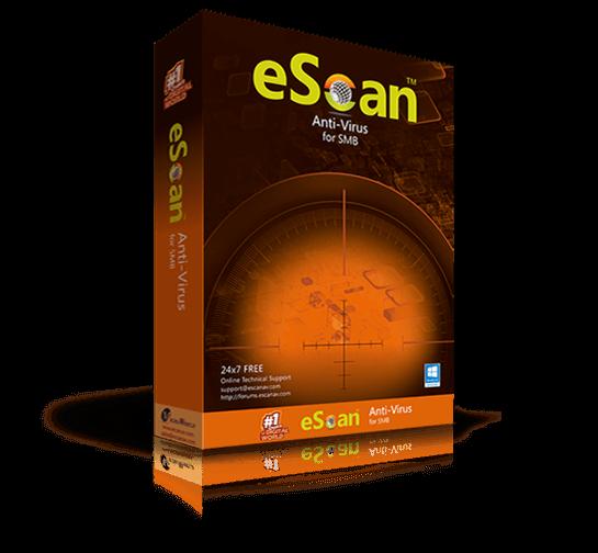 EScan Anti-Virus 2018 Update Free Download Full Version