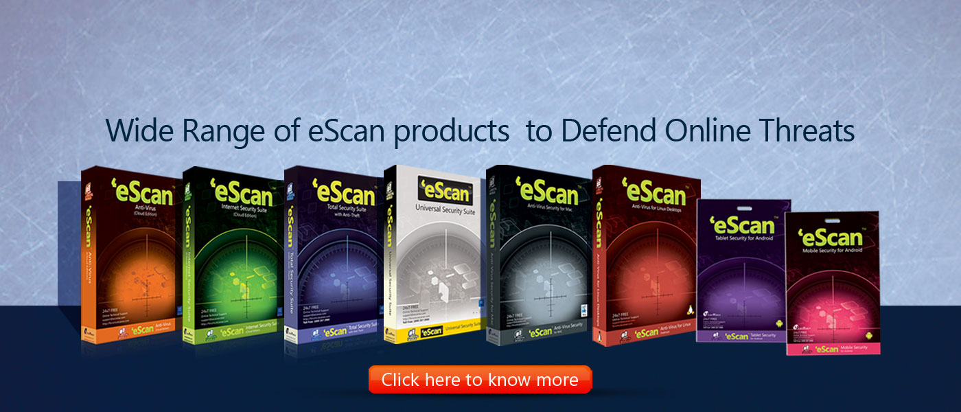 eScan Product