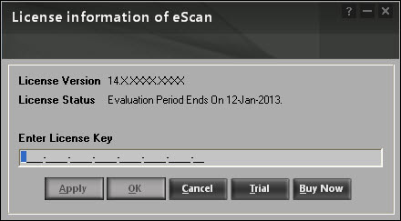Free Download License Key For Escan Antivirus ...